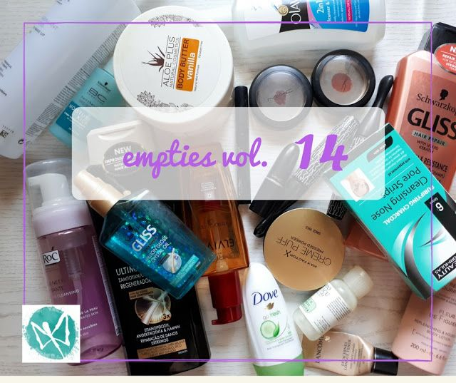 make up your dayz: Empties vol.14!