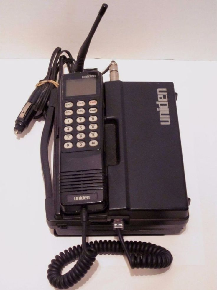uniden cp 2000 car phone cell vintage mobile brick for