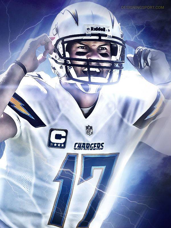 Philip Rivers, San Diego Chargers @ designingsport.com