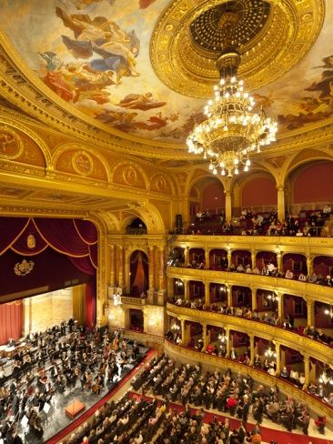 State Opera House (Magyar Allami Operahaz) with Budapest Philharmonic Orchestra, Budapest, Central