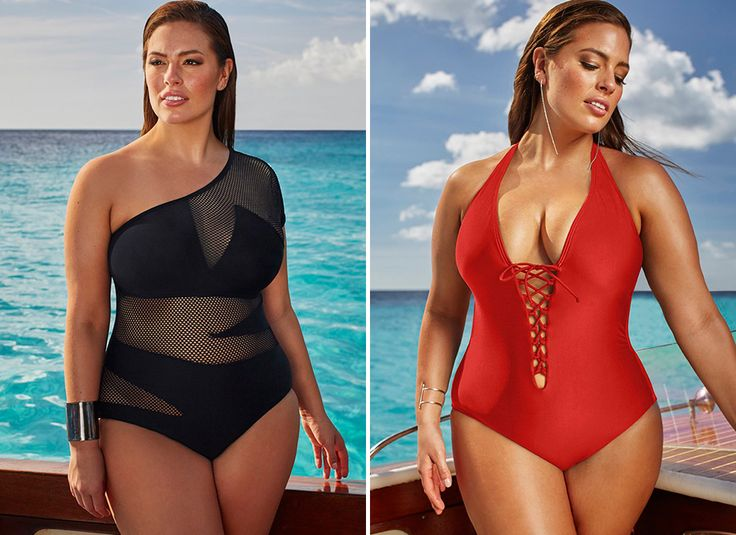 Love Ashley Graham's summer swimsuit collection.