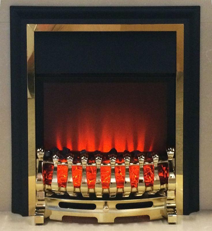 SALE PRICE: £80.40  Ezee Glow Inset Electric Fire Brass Finish - http://www.gr8fires.co.uk/ezee-glow-inset-electric-fire-brass-finish-remote-control/?utm_source=Social&utm_medium=Social
