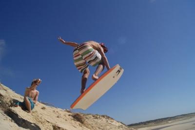 Surfcamp in Frankreich, Le Pin Sec. Surfen lernen im Urlaub...