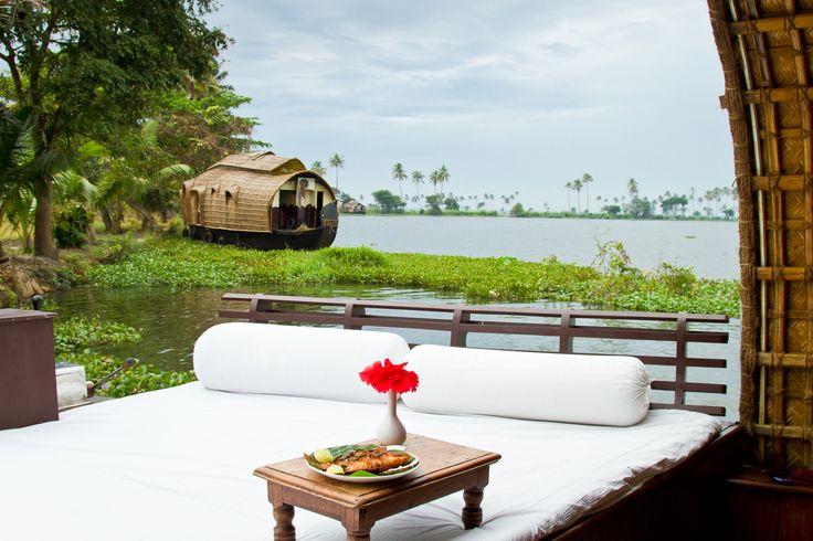 Relax in the backwaters of Kerala #WellnessJourneys #WorldwideAdventures