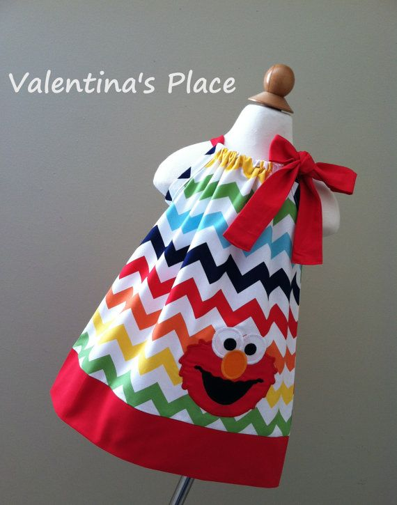 Hey, I found this really awesome Etsy listing at http://www.etsy.com/listing/113196272/new-unique-elmo-in-rainbow-chevron
