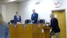 Mayor Walks Out on Invocation Prayer to Satan, Zeus, Allah ------------------------------------------------- HOPE AND CHANGE, BABY!! In a video posted to YouTube the Mayor of Lake Worth, Pam Triolo and several commissioners can be seen leaving the room on Dec. 2, as atheist Preston Smith prepared to lead the invocation invoking the names of Satan, Zeus, Allah, Jesus, Buddha and Thor among others.