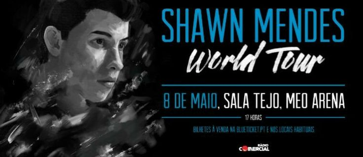 8 de maio concerto do Shawn  em Lisboa !Good concert Shawn Mendes