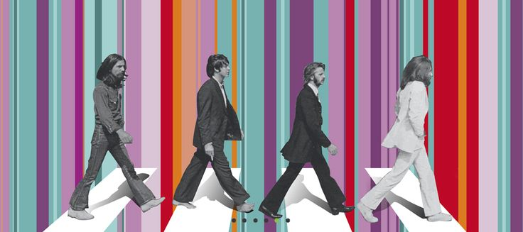 Custom Beatles Wallpaper Printed To Your Exact Wall Size From Wallpapered For More