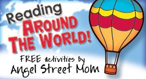 Printables for Reading Around the World in just two months. Perfect for summer or geography reading!