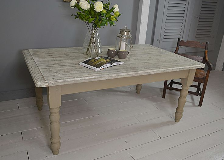 #letstrove This Large Rustic Farmhouse Table Will Easily Seat Up To 8  People And Be