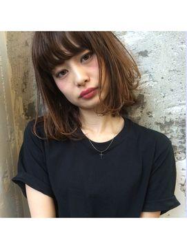 【前髪あり】ストレートボブへアカタログ♡|前髪短め、アシメ、シースルー、流し、ぱっつんの画像 | 美人部