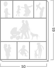 Коллаж | Картина фотоколлаж на холсте | Свадебный, семейный, детский коллаж | Создать большой коллаж из 3, 5, 7 фотографий – Flip