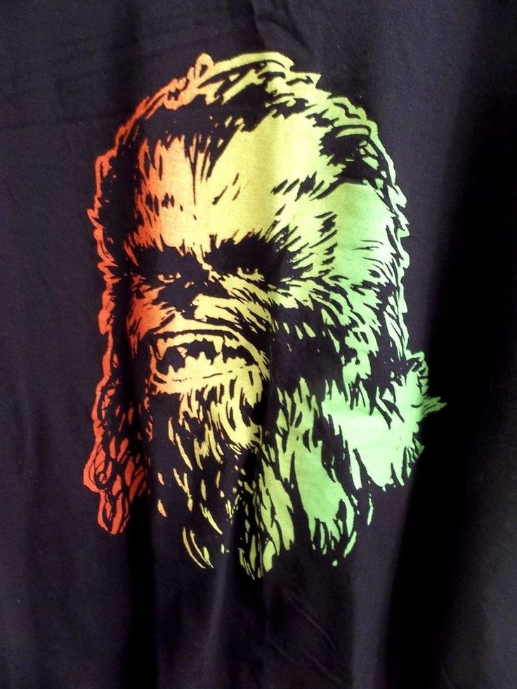 Star Wars Chewbacca T-Shirt Adult XXL 2X-Large Official Merchandise #StarWars