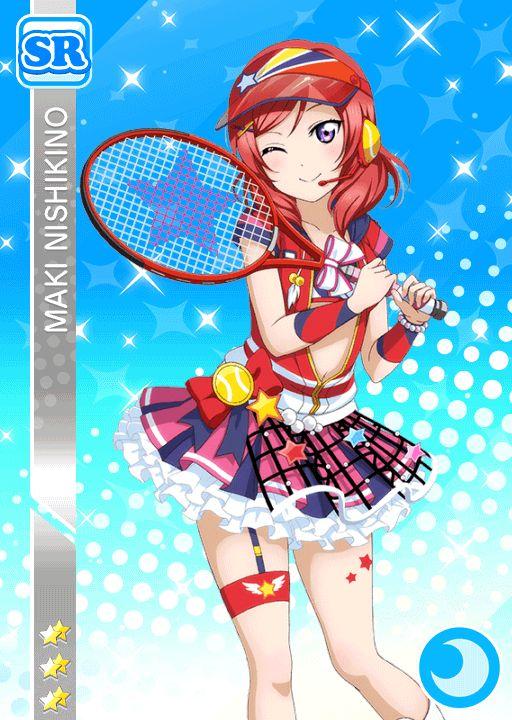 #1171 Nishikino Maki SR idolized