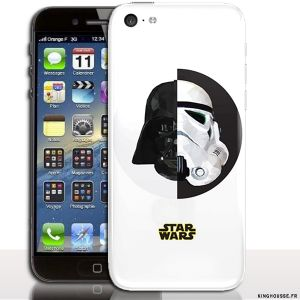 Coque pour iPhone 5C Star Wars