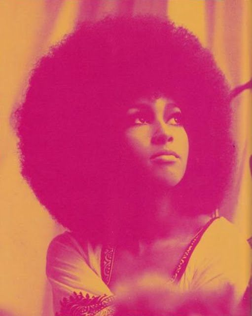 AFROS......Marsha Hunt - singer, model, novelist... and afro hair icon of the 60s