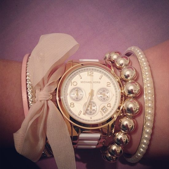 watches women fossil nixon. Bracelet and watch combination.
