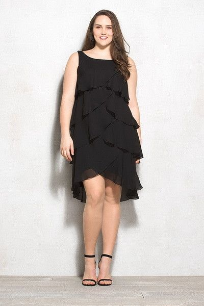 Лучшие модели платьев для полных женщин