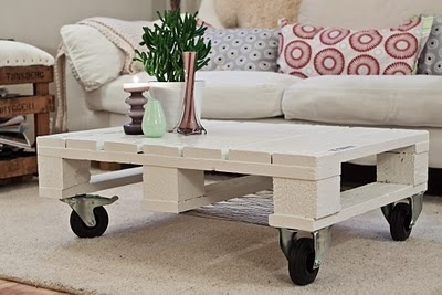 crate coffee table, grt idea for basement