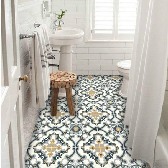 Tile Stickers Tiles For Kitchen Bathroom Back Splash Floor
