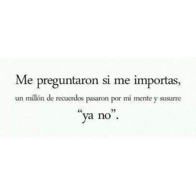Ya no!!