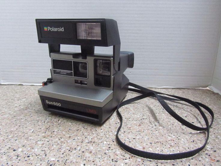 Polaroid Sun 600 Light Management System LMS Instant Film Land Camera Vintage #Polaroid