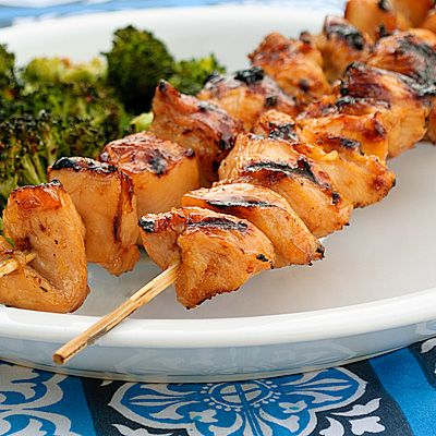 Pineapple Apricot Chicken Skewers Edit* This recipe was alright, I ...
