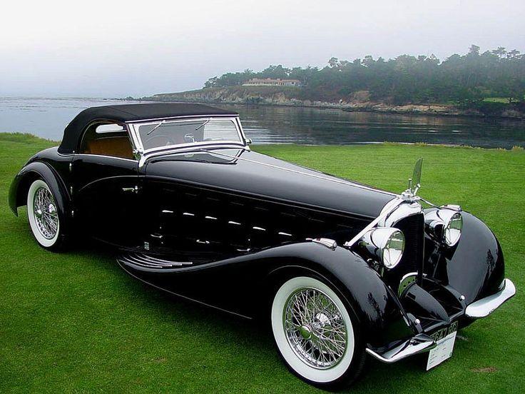 Visit The MACHINE Shop Café... ❤ Best of Classic @ MACHINE ❤ (1934 Voisin C15 Saloit Roadster)