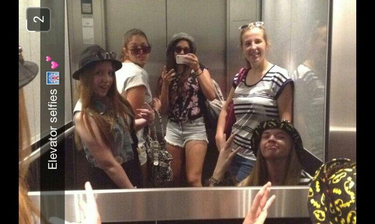 With my main girls.