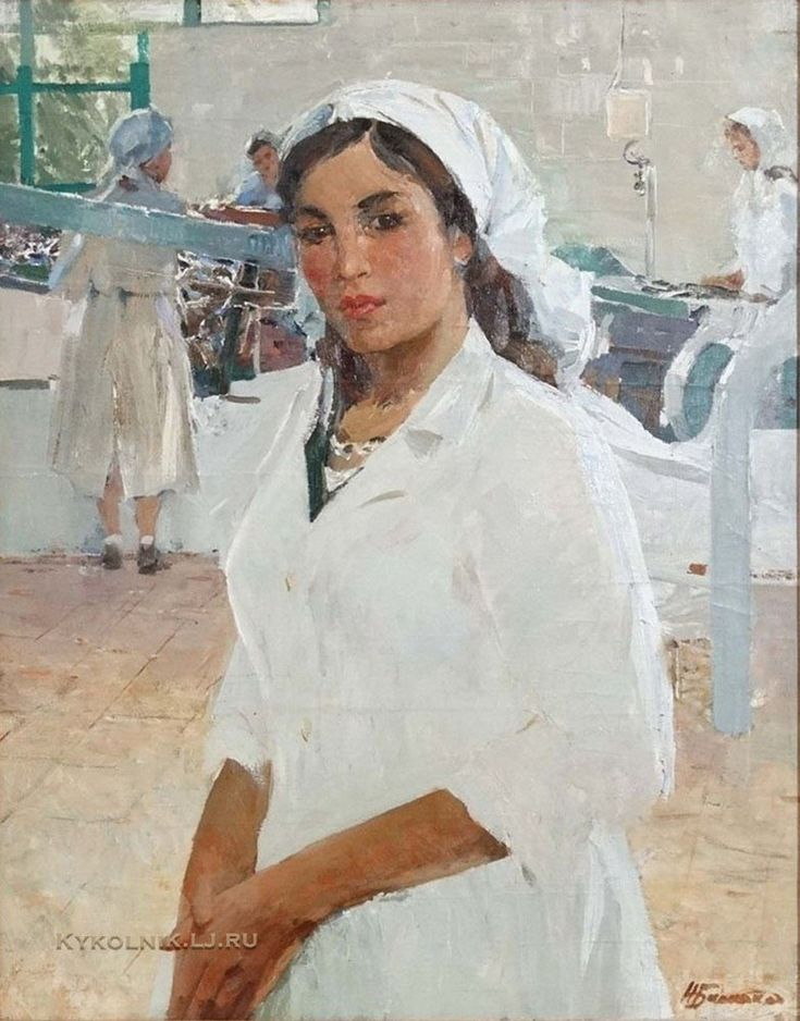 Баскаков Николай Николаевич (1918-1993) «Надя» 1970-е