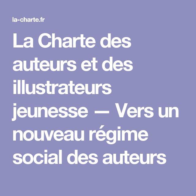 La Charte des auteurs et des illustrateurs jeunesse — Vers un nouveau régime social des auteurs