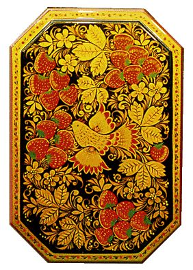 Khokhloma Painting in the Motherland of «Golden Khokhloma» / Artistic handicrafts of Nizhny Novgorod region