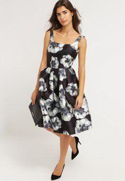 Chi Chi London - ABBEY - Sukienka letnia - black multi