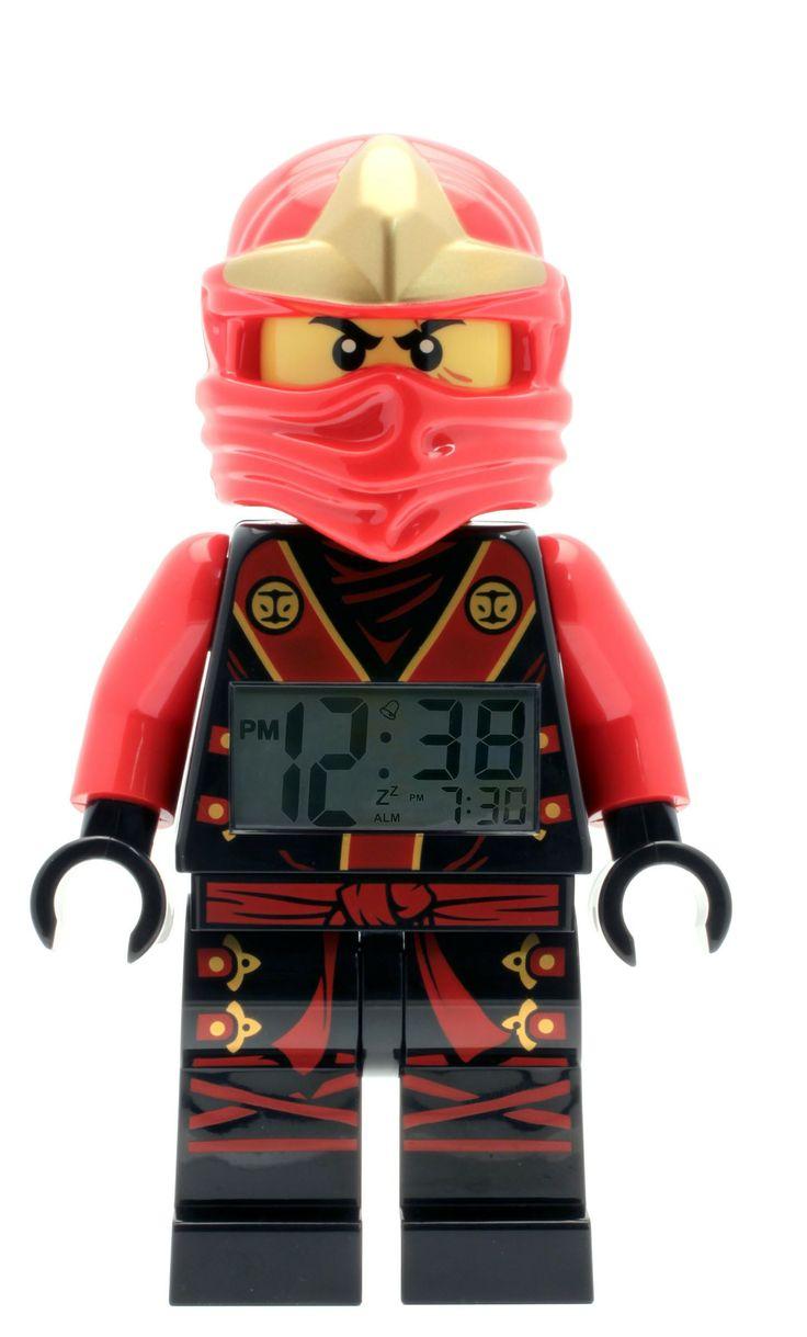Lego ninjago kai clock lego ninjago masters of spinjitzu - Ninjago lego kai ...