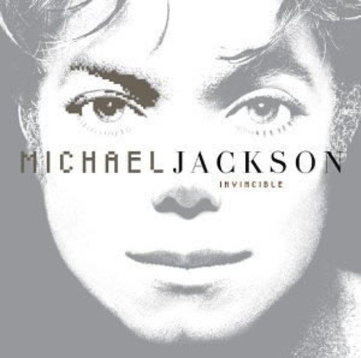 Michael Jackson's Invincible album cover