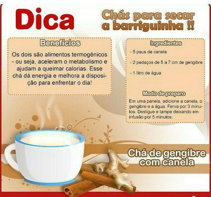 Chá termogênicos