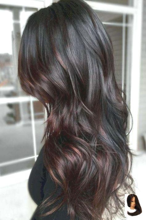 #balayage #Black Hair tips #Brown #brunette #Caramel # for