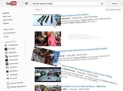 Do the Harlem Shake - Youtube's Easter Egg
