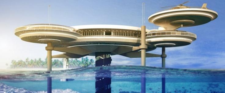 Ongewoon wonen: luxueus onderwater hotel