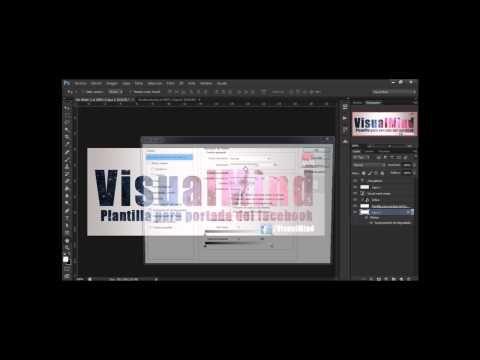 Photoshop Cs6 Desce Cero Plantilla Portada del facebook 2014 - YouTube