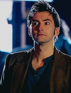 David Tennant's neck is perfection. I'd kiss it all the time~