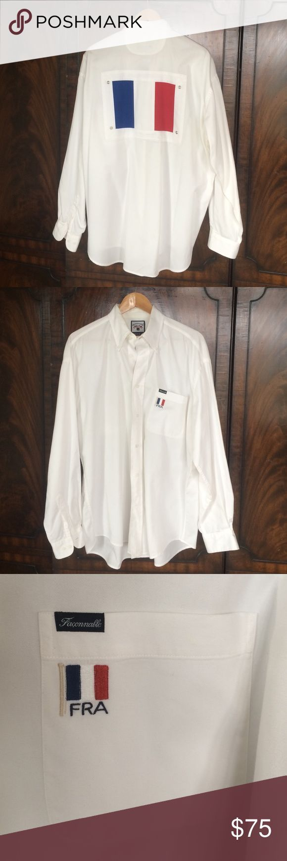 Faconnable, Luxury Men's Shirt French collection Awesome condition! Faconnable Shirts