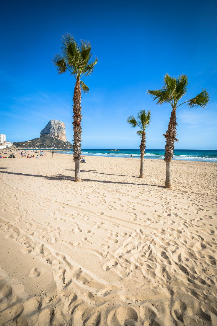Arenal Beach in Alicante, Spain. #Spain #Alicante #Mediterranean #CostaBlanca
