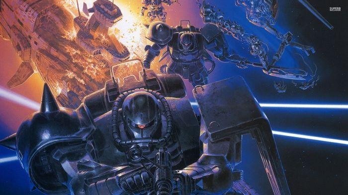 Zaku Ii Gundam Anime Wallpaper