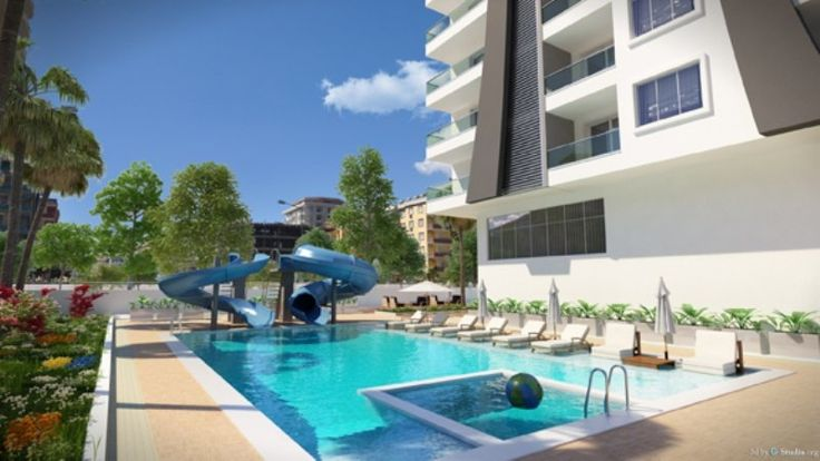 Mutlu Apartments - This luxurious, fantastic Property In Turkey is of very high quality. The apartments which are is located on one of the main Street of Mahmutlar, close to the centre and few steps away from its beautiful beach. There is a buzzing neighbourhood, which has an excellent the social infrastructure with many shops, restaurants, cafes, bars, bus stops, pharmacies, supermarkets, and much more. Price: £188,921