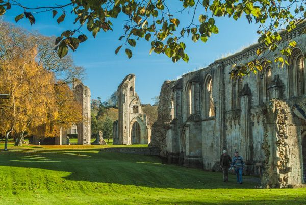 8. Glastonbury Abbey, England (2017)