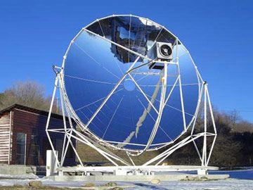 Les 25 meilleures id es de la cat gorie capteur solaire for Miroir solaire parabolique