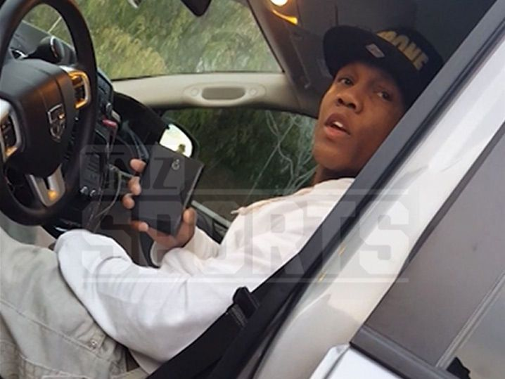 Boxing Champ Zab Judah -- Gave Fake Name After Car Crash ... Are You Drunk??? (VIDEO)