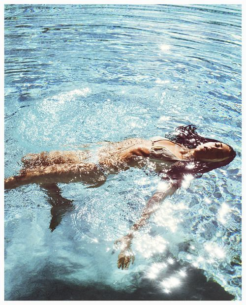 Five easy toning moves to do in the pool so all that hard work isn't just a short term gain...