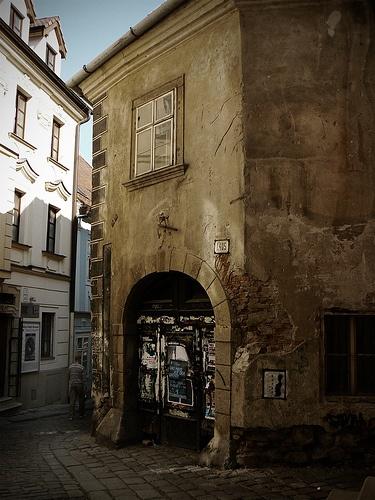 A corner in bratislava
